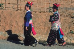 Femmes de l'ethnie Hmong. (© Eric Martin - Iconotec)