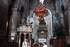 Intérieur de la cathédrale Saint-Laurent de Trogir. (© Luis Davilla)