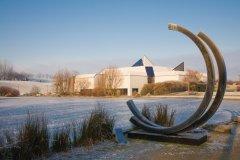 Jardin de sculptures du Laac imaginé par le paysagiste Gilbert Samel (© Olivier LECLERCQ)
