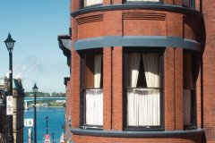 Façade emblématique d'un bâtiment de Saint John. (© Tourisme Nouveau-Brunswick)
