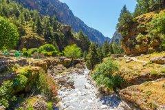 Les Gorges de Samaria. (© dziewul)