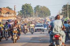 Porto Novo et ses rues animées. (© peeterv)