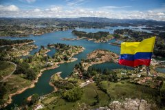 Piedra del Peñol, Guatapé. (© CAPOA VOYAGES COLOMBIE)