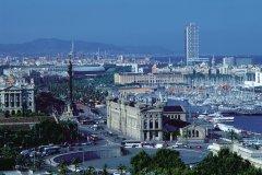 Barcelone depuis le Montjuïc. (© Alamer - Iconotec)