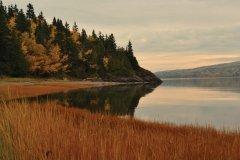 Matin d'automne dans le parc national du Bic. (© Renaud MOY)