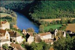 Castelnaud-la-Chapelle, village du Périgord Noir (© Vincent FORMICA)