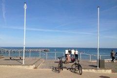 Esplanade de la plage des Dames, Noirmoutier. (© Linda CASTAGNIE)