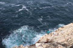 Pêcheurs au Cap Saint-Vincent. (© Sarah DEHAUT)