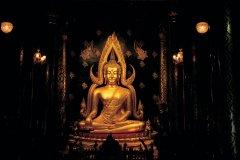 Bouddha Chinarat du Wat Phra Si Ratana Mahathat. (© S.Nicolas - Iconotec)