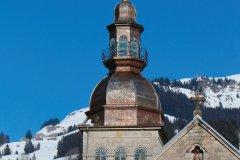Église Notre-Dame-de-l'Assomption, le Grand-Bornand. (© Elenarts - iStockphoto)