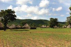 Afia, village peul. (© Stéphanie BORG)