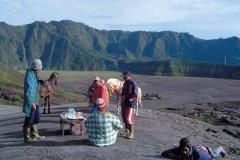 Cavaliers prenant une pause au Batok. (© Eloïse BOLLACK)