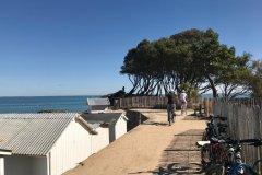 Pointe de la plage des Dames. (© Linda CASTAGNIE)