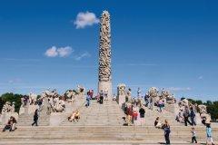 La colonne Monolith du Parc Vigeland. (© Serge OLLIVIER - Author's Image)