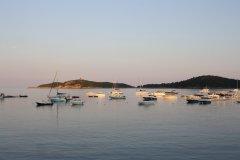 Coucher de soleil sur la baie de Pinarello (© Xavier Bonnin)