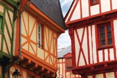 Maisons à pans de bois dans le centre de Vannes. (© ELENATHEWISE - FOTOLIA)