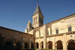 Abbaye Nieul-sur-l'Autise. (© Patrick Durandet)