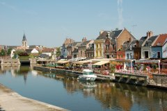 Le quai Bélu - Amiens. (© FOTOLIA)