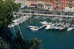 Le port de plaisance de Nice. (© Christian DOUTRELIGNE  - Filoxpix)