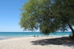 La plage de Port Albert. (© Valérie FORTIER)