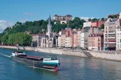 La Saône à Lyon (© JAKEZC - FOTOLIA)