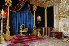 Salle du trône de Napoléon - Château de Fontainebleau (© Jerakeen - Fotolia)