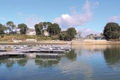 Le port d'Arradon. (© Isabelle LEDOUX)