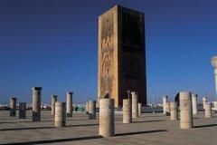 Tour Hassan. (© S.Nicolas - Iconotec)
