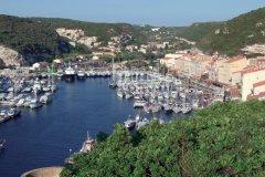 Le port de Bonifacio (© XAVIER BONNIN)