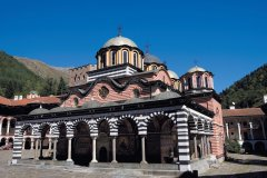 Monastère de Rila, inscrit au patrimoine mondial de l'Unesco. (© Author's Image)