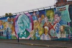 Fresques murales de Belfast. (© Céline ROUZIER)