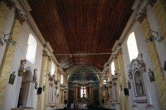 Intérieur de l'église de Quillacollo, Cochabamba. (© Arnaud BONNEFOY)