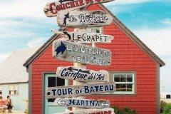 Signalétique à Saint John. (© Tourisme Nouveau-Brunswick)