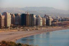 La plage de Beyrouth (© Philippe GUERSAN - Author's Image)