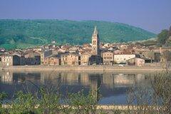 Vue du village d'Andance (© VALÉRY D'AMBOISE)