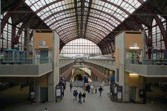La gare centrale d'Anvers est une des plus belles de Belgique. (© Author's Image)