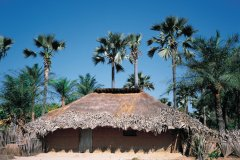 Village diola en Casamance. (© Tom Pepeira - Iconotec)