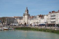 La Grosse Horloge sur le quai Duperré (© CMT17 - E. COEFFE)