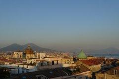 Vue panoramique de Naples et du Vésuve. (© Caroline GEORGE)