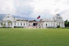Le Palais présidentiel d'Haïti après le tremblement de terre. (© arindambanerjee - iStockphoto)