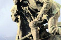 Statues de chasseurs tyroliens. (© Siegfried Stoltzfuss - Iconotec)