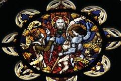 Vitrail de la cathédrale Sainte-Croix d'Orléans (© Marco Desscouleurs - Fotolia)