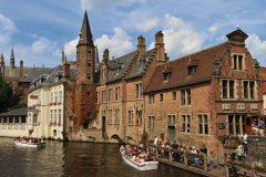 Canaux de Bruges. (© Lawrence BANAHAN - Author's Image)