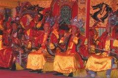 Spectacle Naxi - Danse et musique Dongba. (© Author's Image)