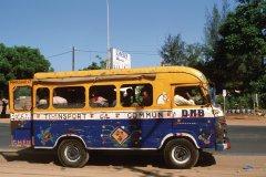 Autobus à Dakar. (© Author's Image)