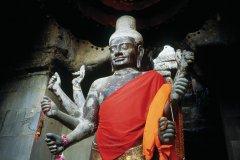 Statue de Shiva. (© Eric Martin - Iconotec)