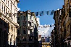 Décorations du carnaval de Trieste. (© Arthur VINCENT - www.flickr.com/photos/artvincent)