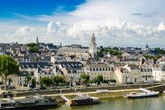 Vue sur la ville d'Angers. (© Sokarys - Fotolia)
