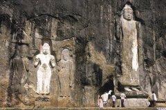 Site bouddhique de Buduruwagala (© Eric Martin - Iconotec)