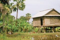 Habitation khmère. (© Alamer - Iconotec)